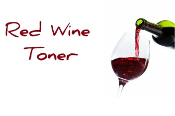 red wine toner